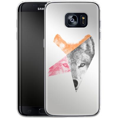 Samsung Galaxy S7 Edge Silikon Handyhuelle - Wild von Eric Fan
