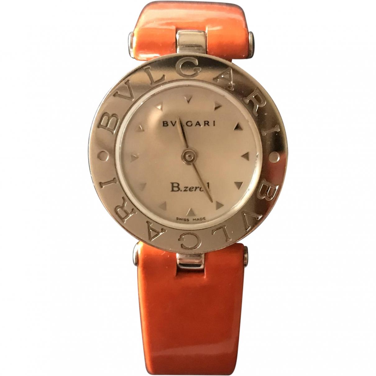 Bvlgari - Montre B.Zero1 pour femme en acier - orange
