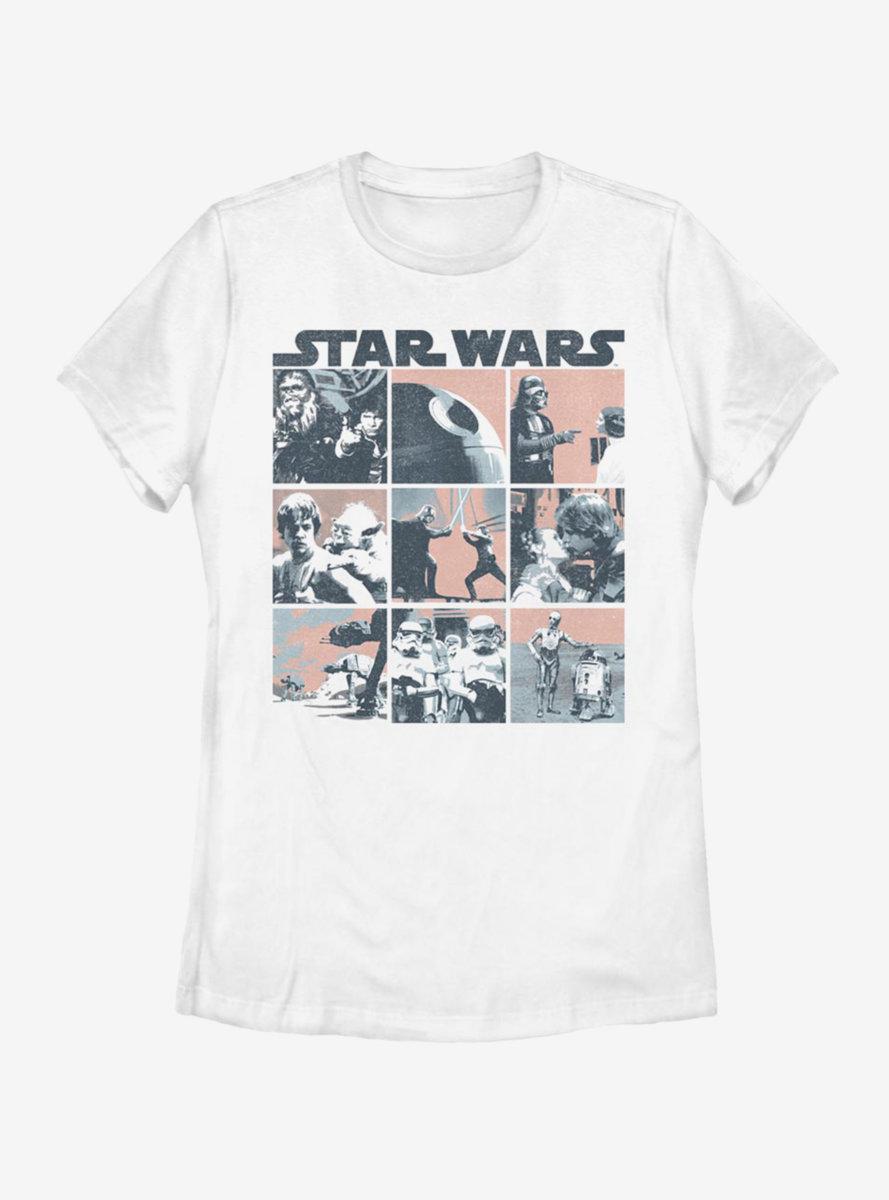 Star Wars Retro Wars Womens T-Shirt