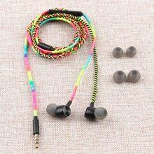 5pcs Handmade Rope in-ear Headphone Set