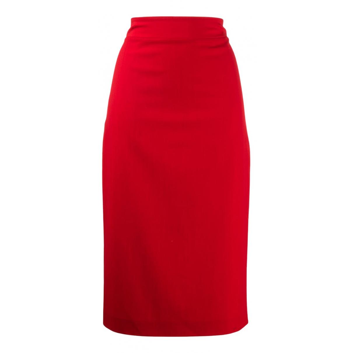 Blumarine N Red skirt for Women 40 IT