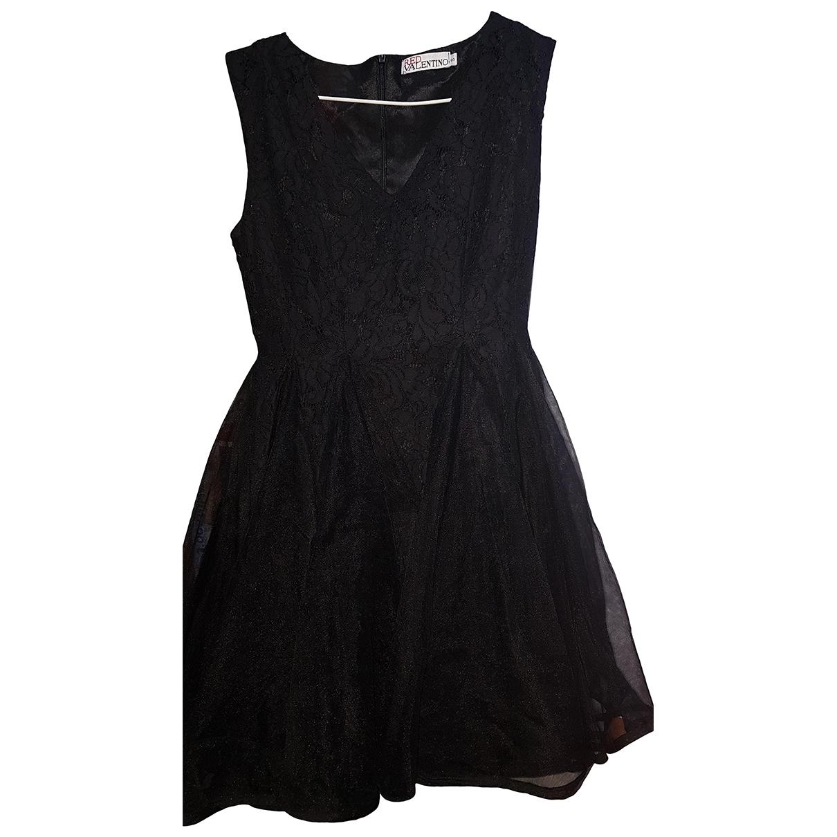 Red Valentino Garavani \N Black Lace dress for Women S International
