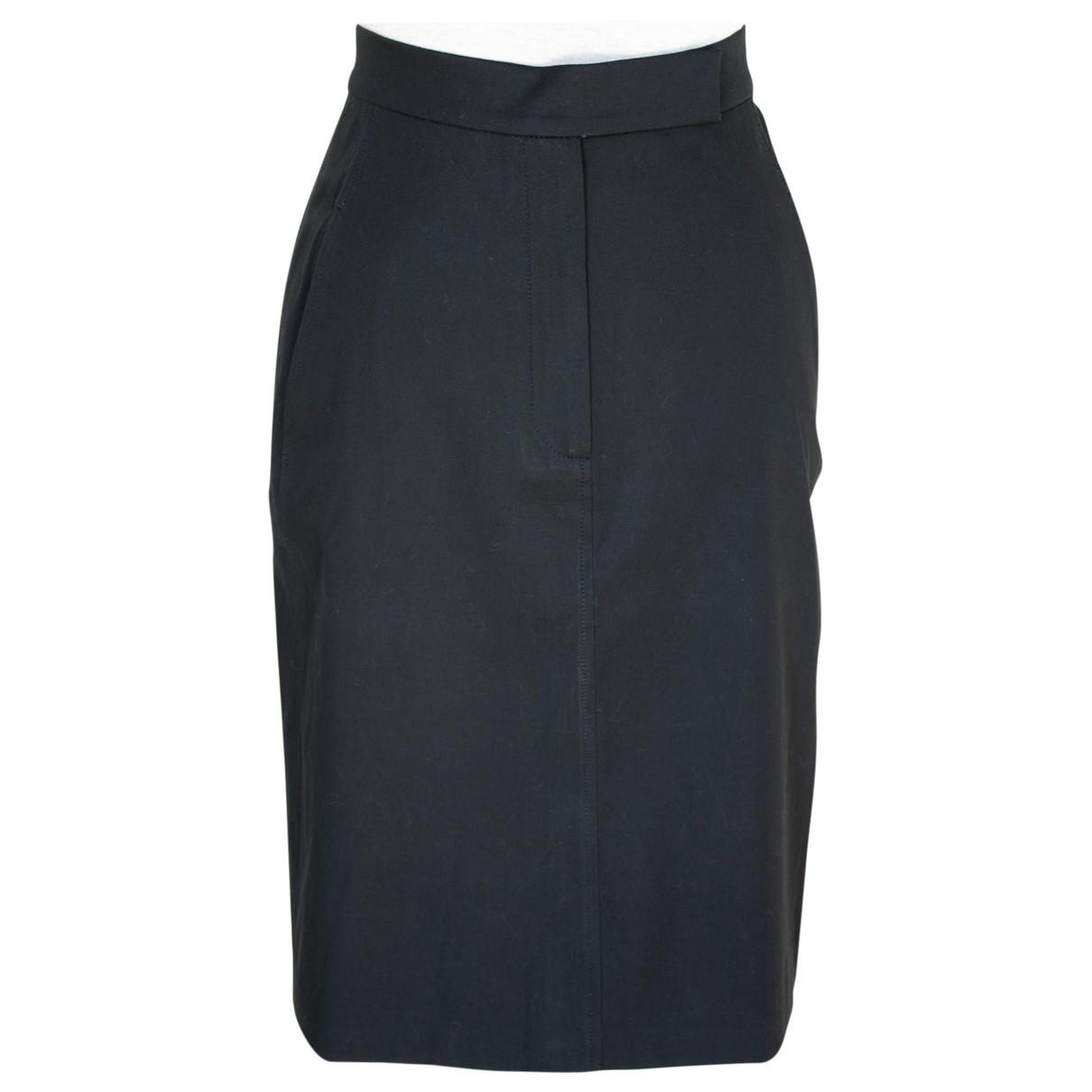 Max Mara \N Black Cotton skirt for Women 42 IT