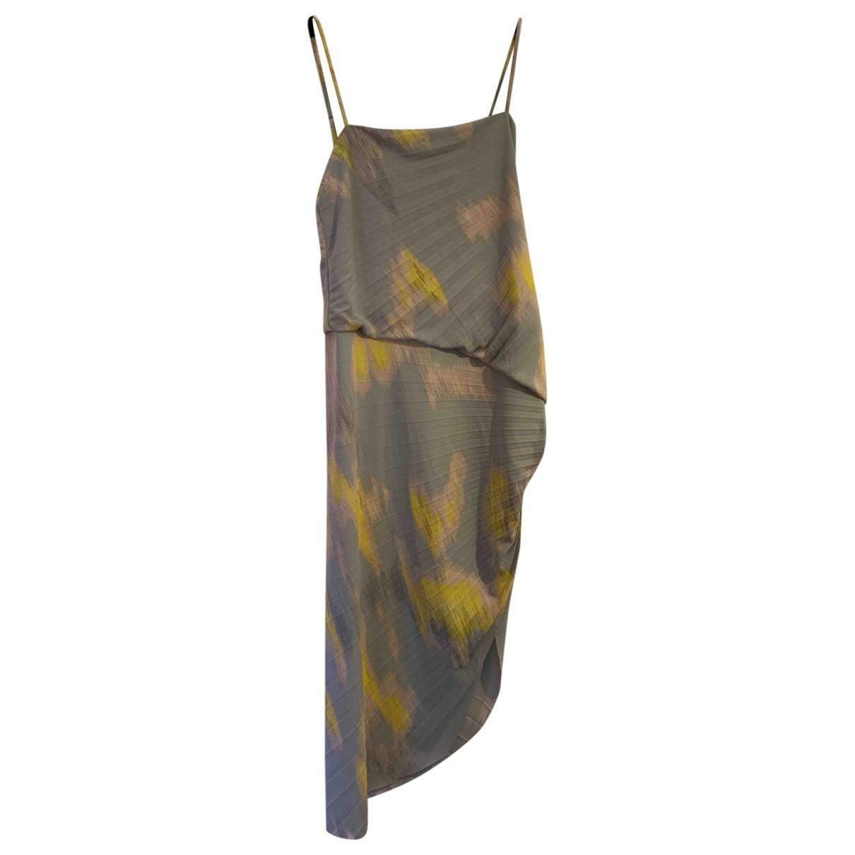 Halston Heritage \N Kleid in  Bunt Polyester