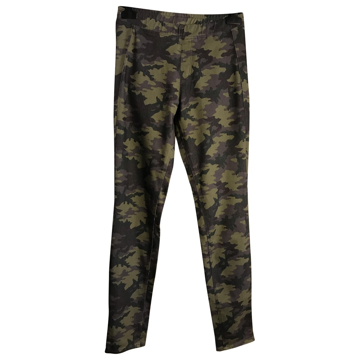 Uniqlo \N Khaki Trousers for Women 36 FR