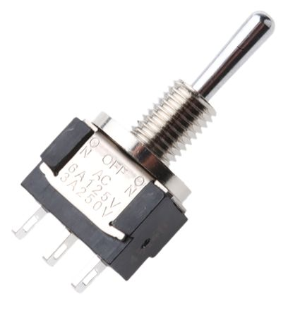 KNITTER-SWITCH SPDT Toggle Switch, On-Off-(On), IP67, Panel Mount
