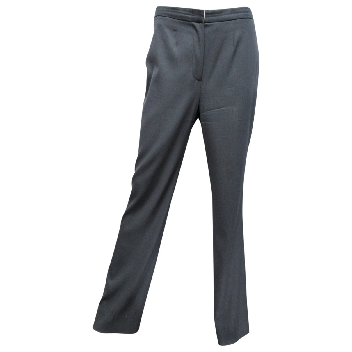 Moschino Cheap And Chic \N Grey Wool Trousers for Women 46 IT