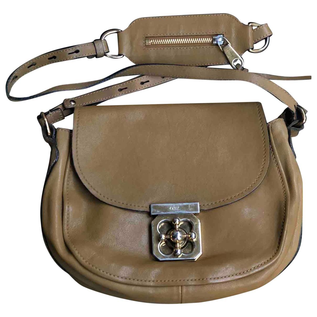 Chloé N Beige Leather handbag for Women N