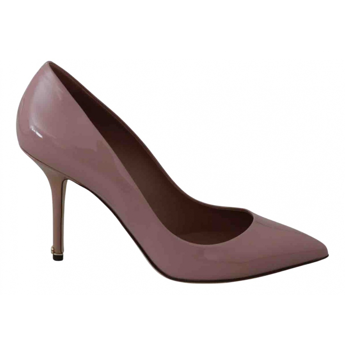 Dolce & Gabbana N Pink Patent leather Heels for Women 39 EU