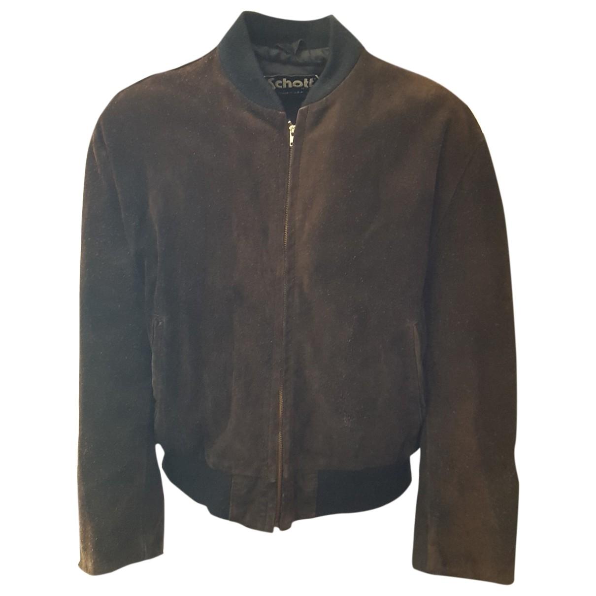 Schott \N Brown Leather jacket  for Men L International