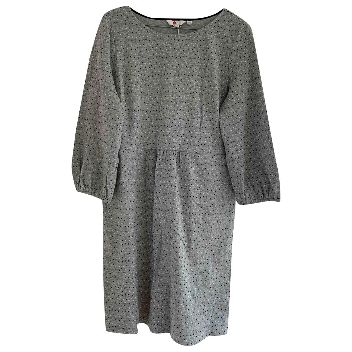 Boden \N Grey Cotton dress for Women 12 UK