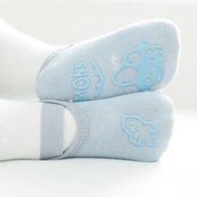 Calcetines de piso antideslizantes de bebe