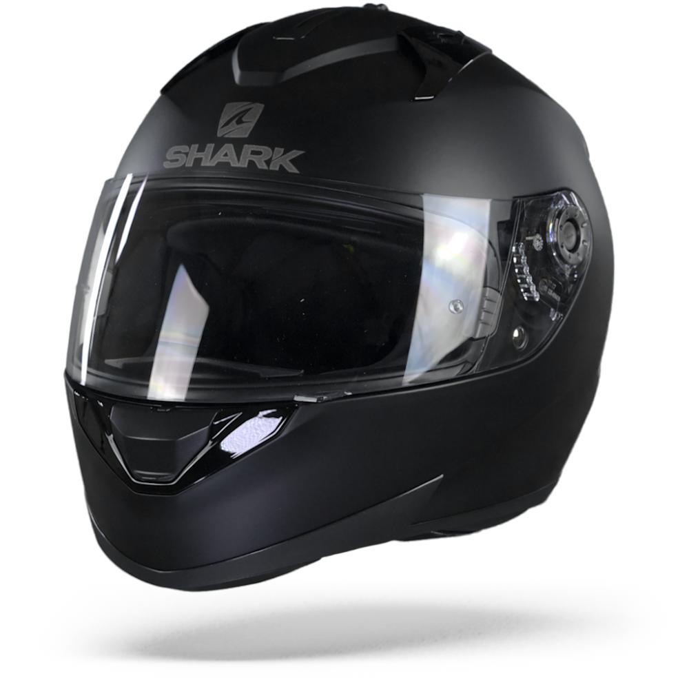 Shark Ridill Blank Mat KMA Black Mat Casco Integral M