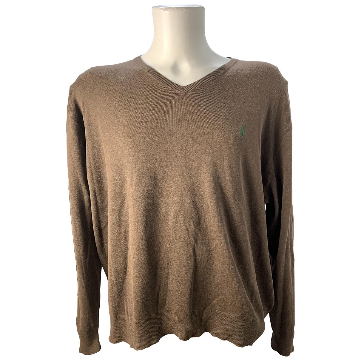 Polo Ralph Lauren \N Pullover.Westen.Sweatshirts  in  Braun Baumwolle