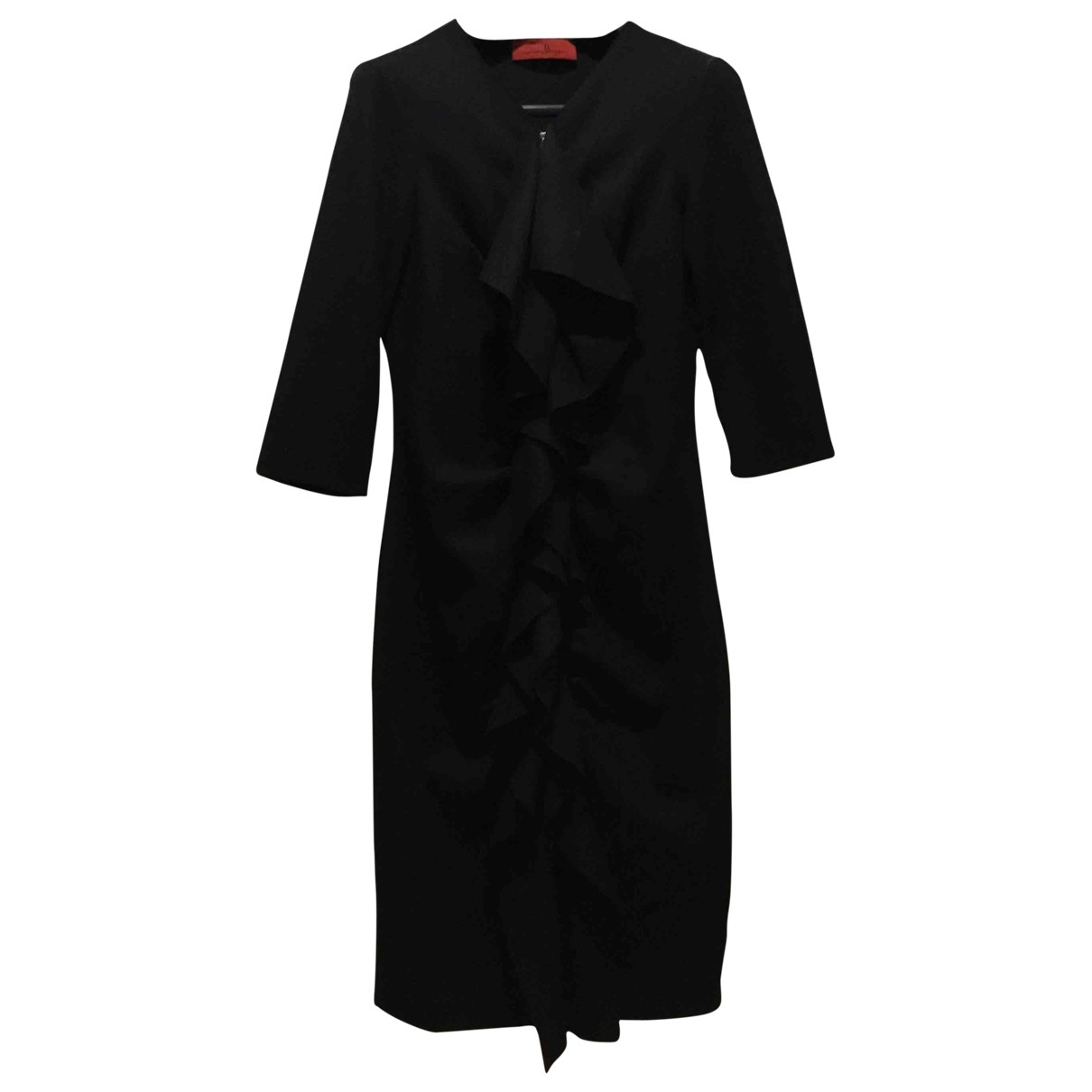 Carolina Herrera \N Black Wool dress for Women 4 US