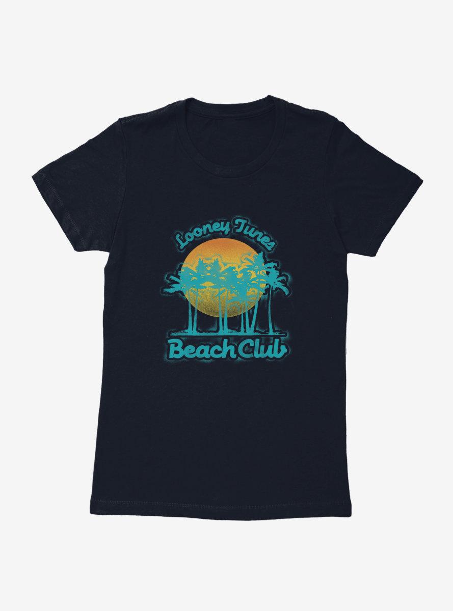 Looney Tunes Beach Club Sunset Womens T-Shirt