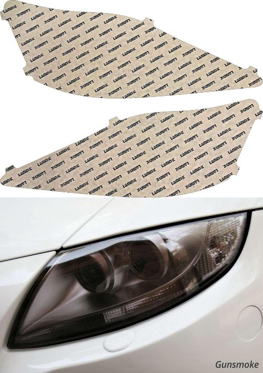Lexus IS 11-13 Gunsmoke Headlight Covers Lamin-X L017G