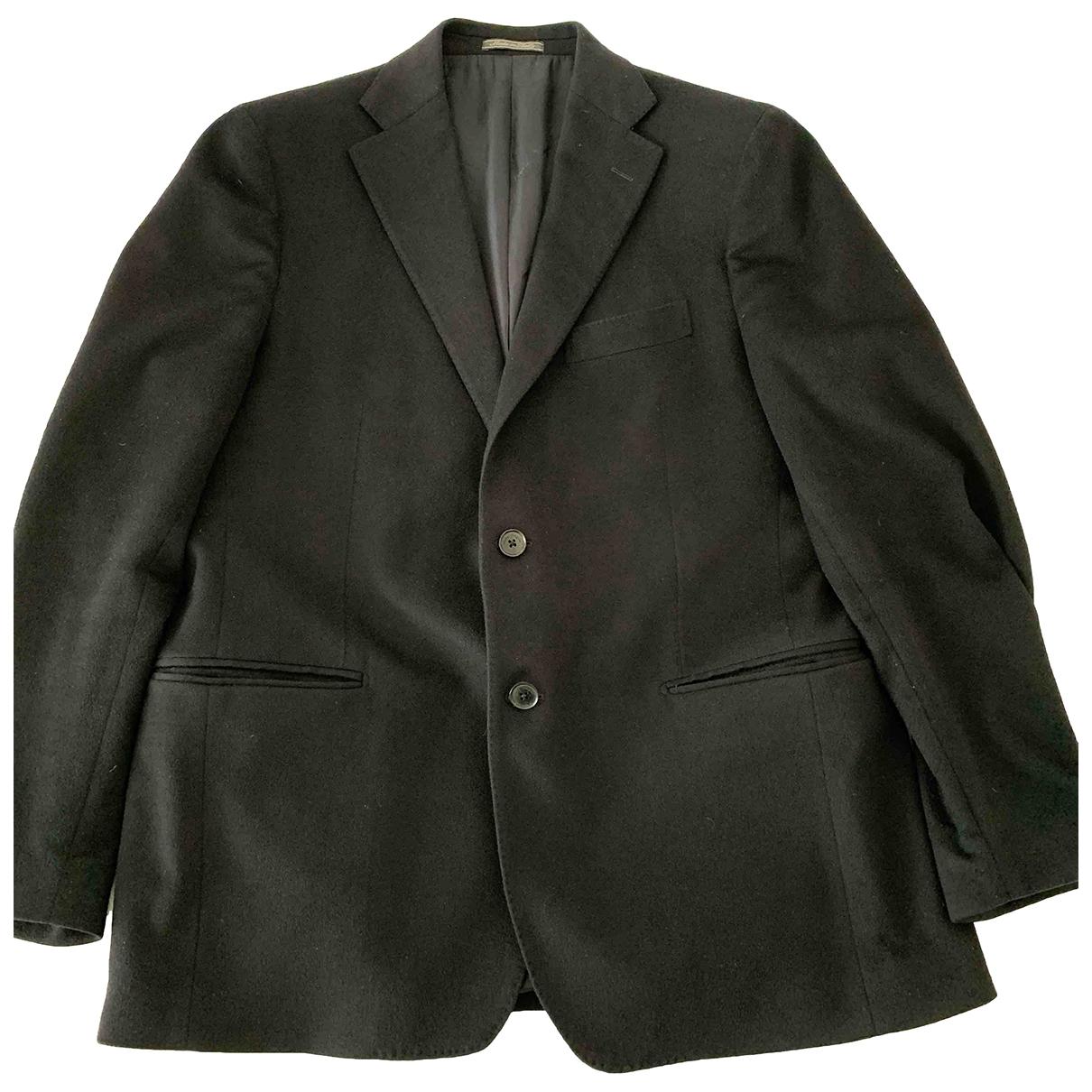 Salvatore Ferragamo \N Black Cashmere jacket  for Men 54 IT