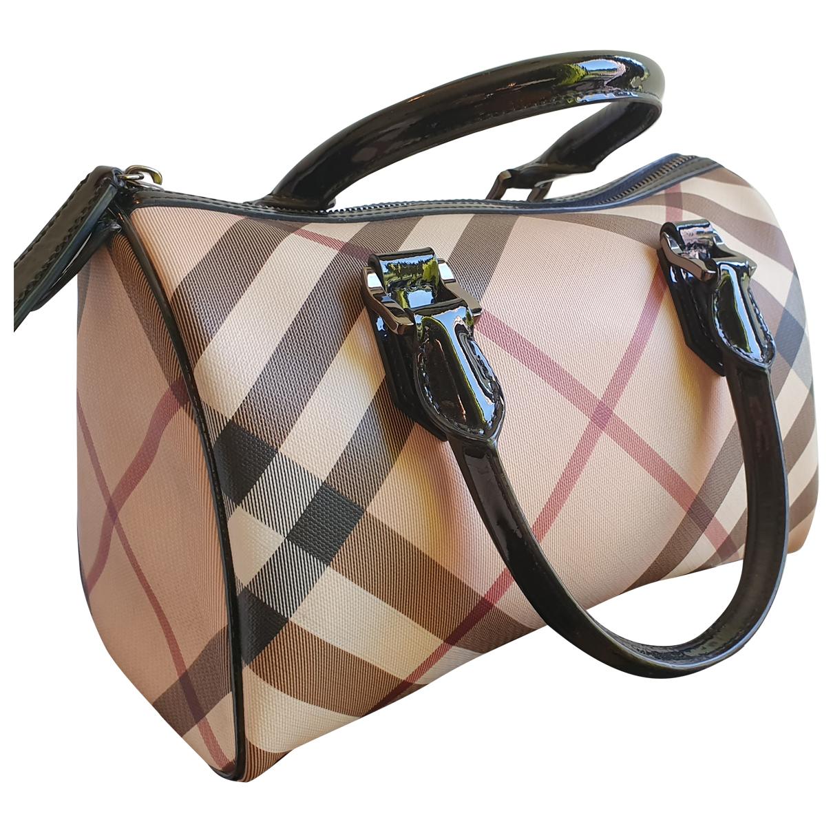 Burberry N Beige Cloth handbag for Women N