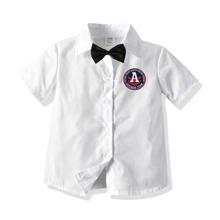 Kleinkind Jungen Hemd mit Buchstaben Muster