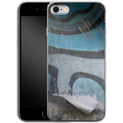 Apple iPhone 6s Silikon Handyhuelle - Texture Pacificwall von Brent Williams