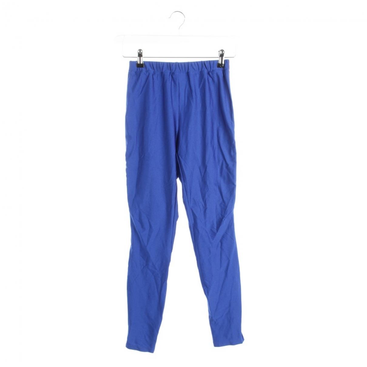 Gucci \N Blue Trousers for Women M International