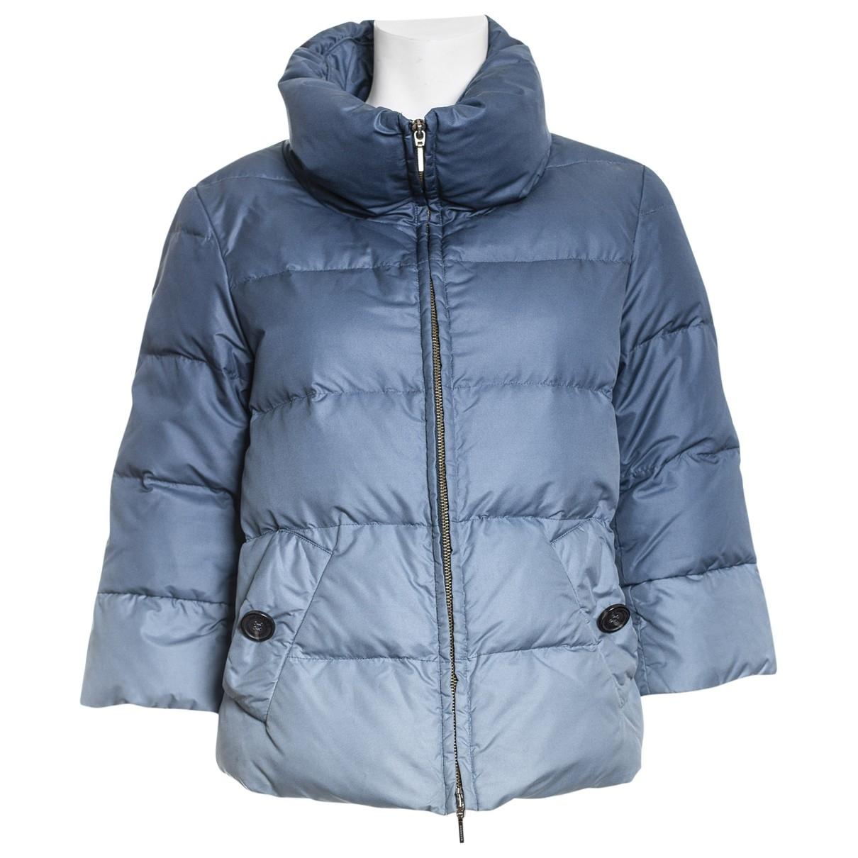Max Mara Weekend \N Blue coat for Women 42 IT