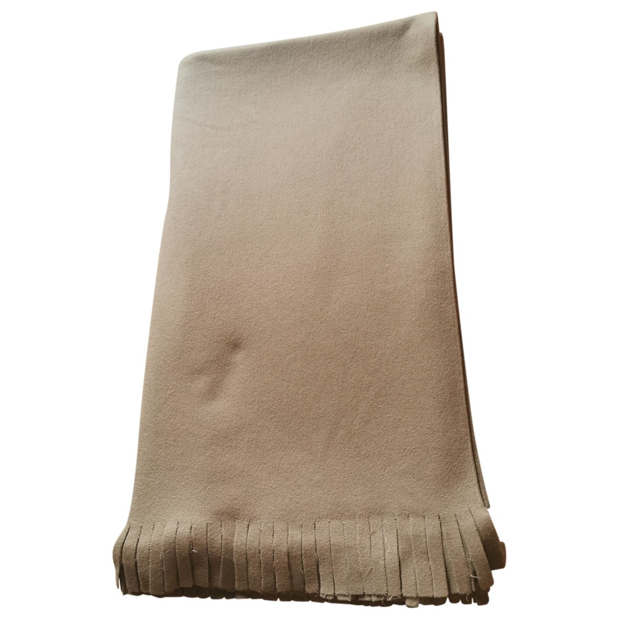 Non Signé / Unsigned \N Camel Cashmere scarf for Women \N