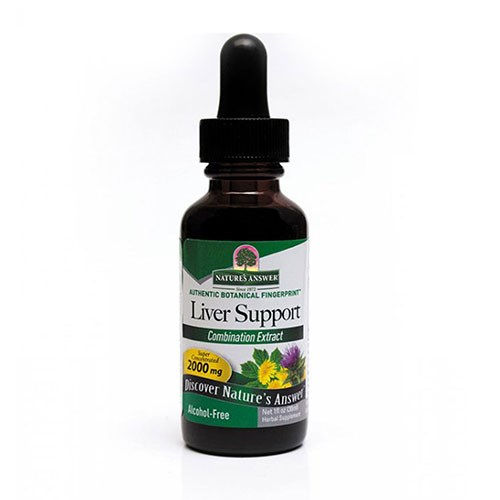 Liver Support ALCOHOL FREE, 1 OZ by Nature's Answer