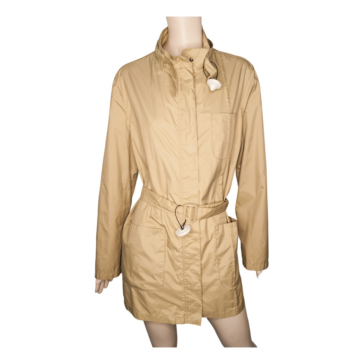 Armani Jeans \N Trench in  Beige Synthetik