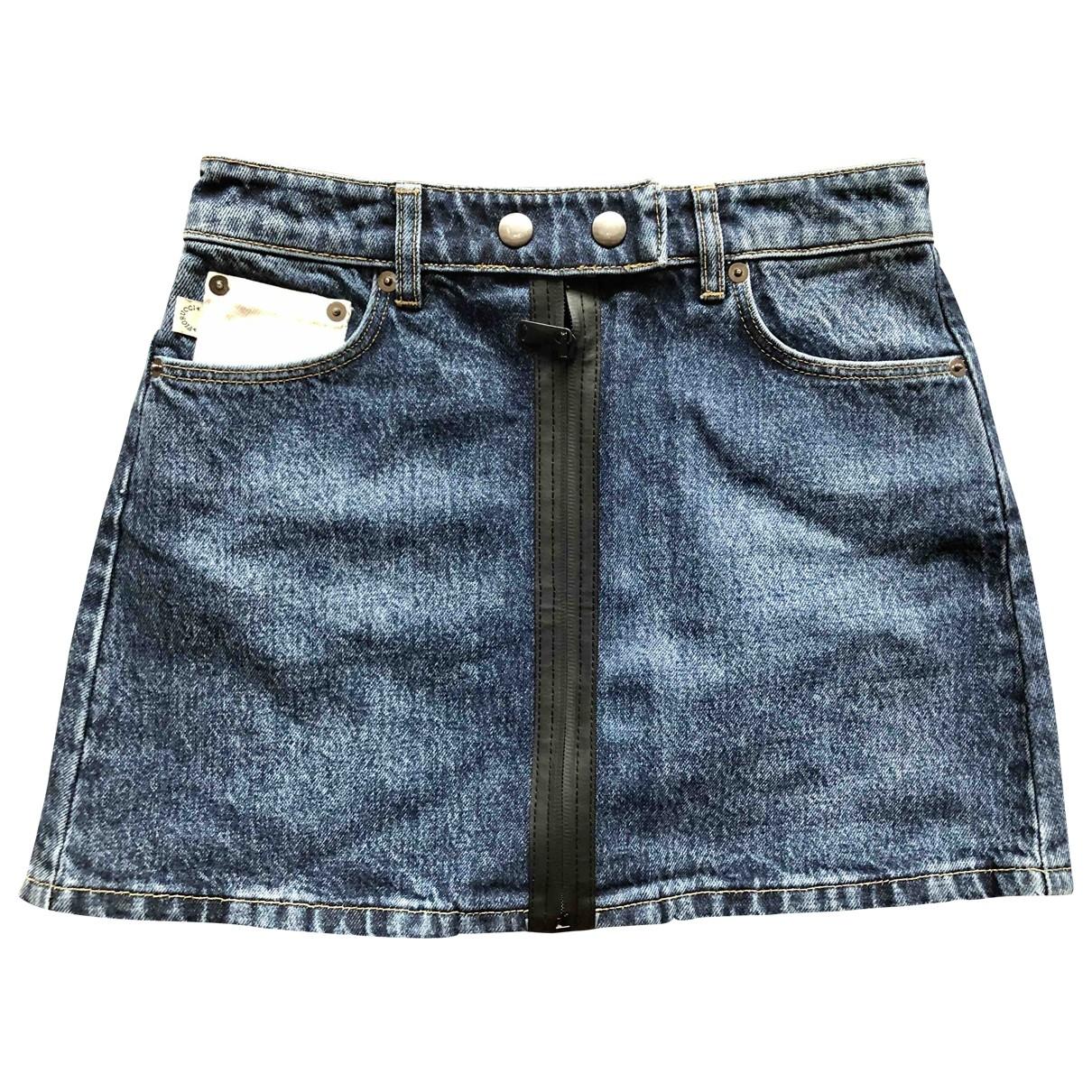 Fiorucci \N Rocke in  Blau Denim - Jeans
