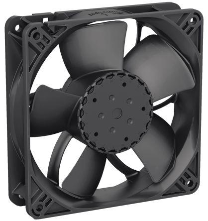 ebm-papst , 48 V dc, DC Axial Fan, 119 x 119 x 32mm, 220m³/h, 6.5W
