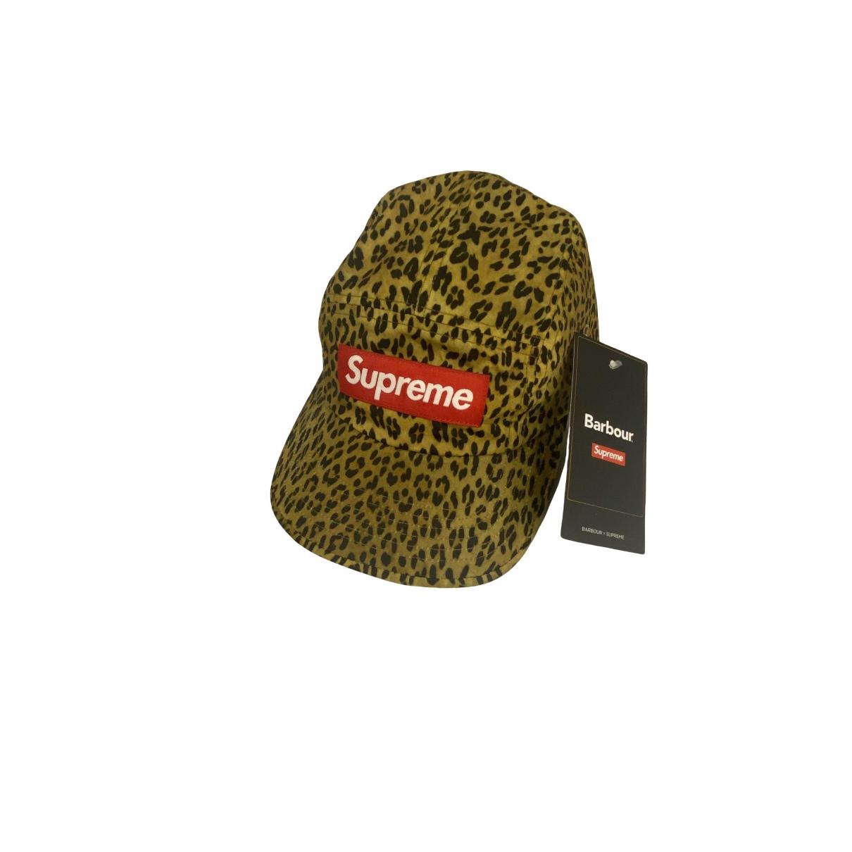 Supreme - Chapeau & Bonnets   pour homme en coton