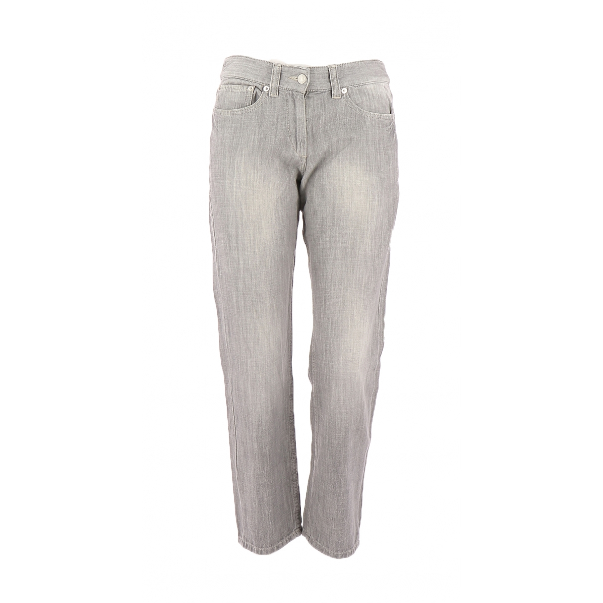 Isabel Marant Etoile \N Grey Denim - Jeans Trousers for Women 34 FR