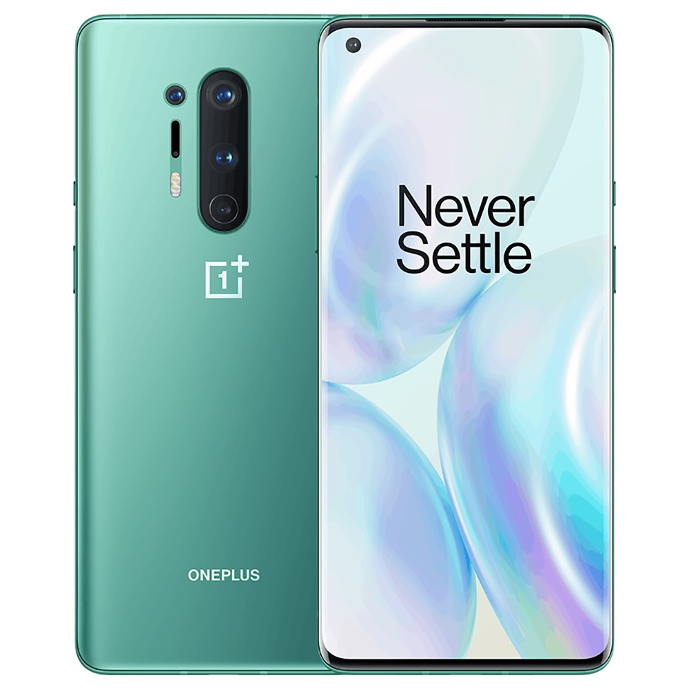 Global ROM OnePlus 8 Pro 5G Smartphone 8GB 128GB Glacial Green