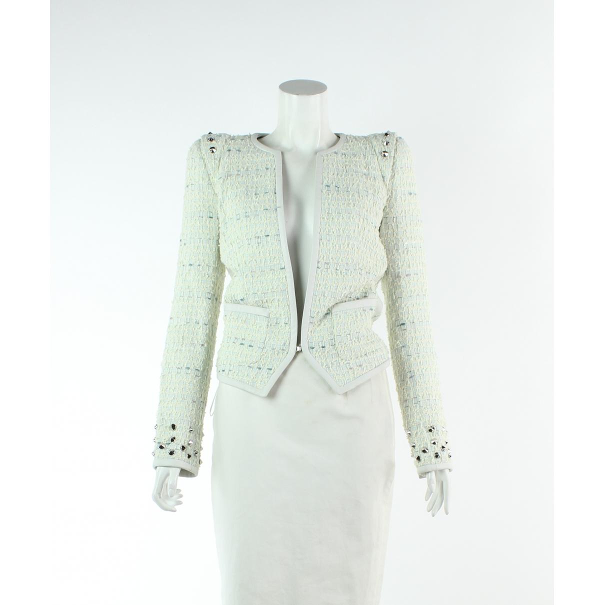 Barbara Bui \N Ecru Cotton jacket for Women 34 FR
