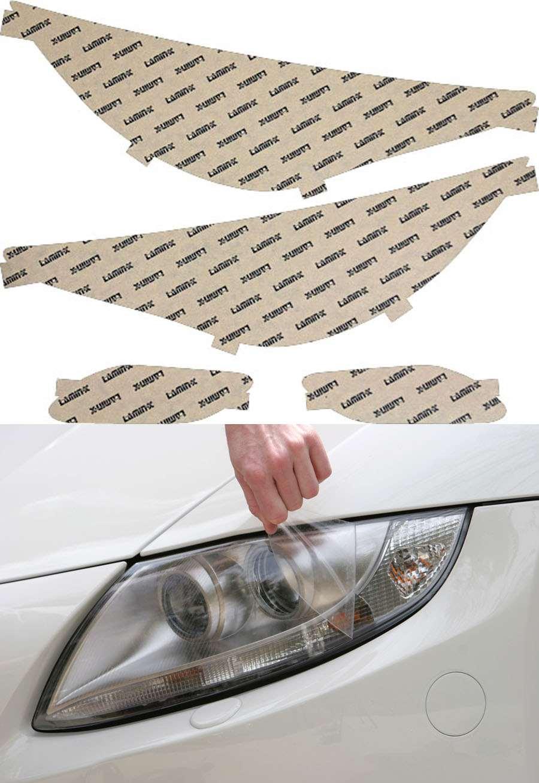 Hyundai Sonata 11-14 Clear Headlight Covers Lamin-X HY016CL