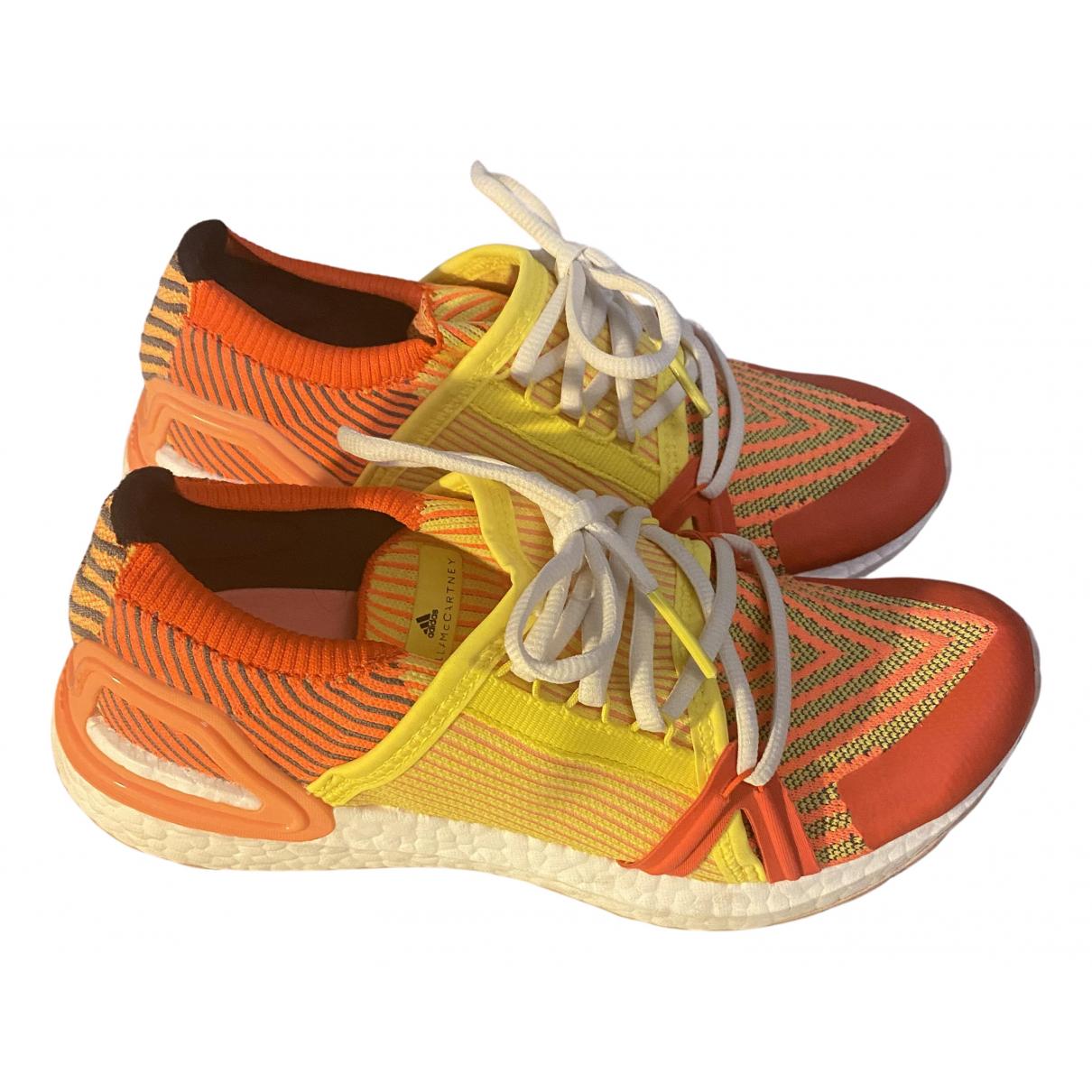 Stella Mccartney Pour Adidas - Baskets   pour femme en toile - orange