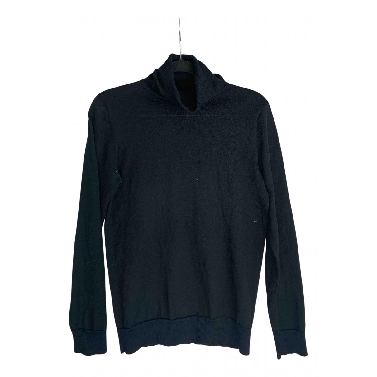 Filippa K - Pull   pour femme en laine - noir