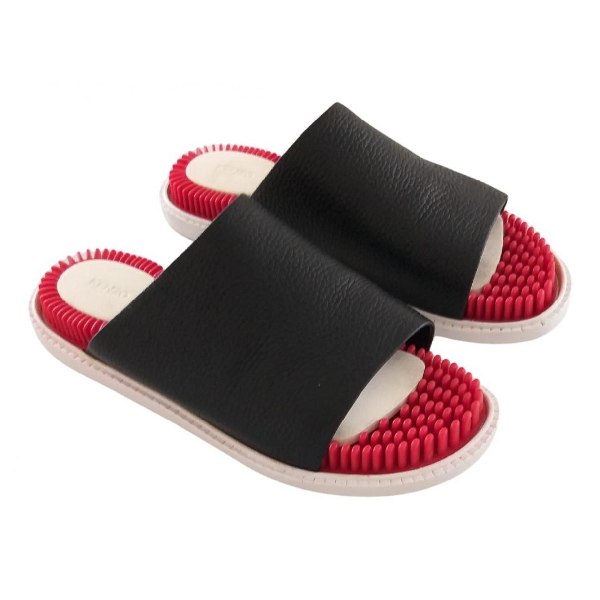 Sandalias romanas de Cuero Kenzo