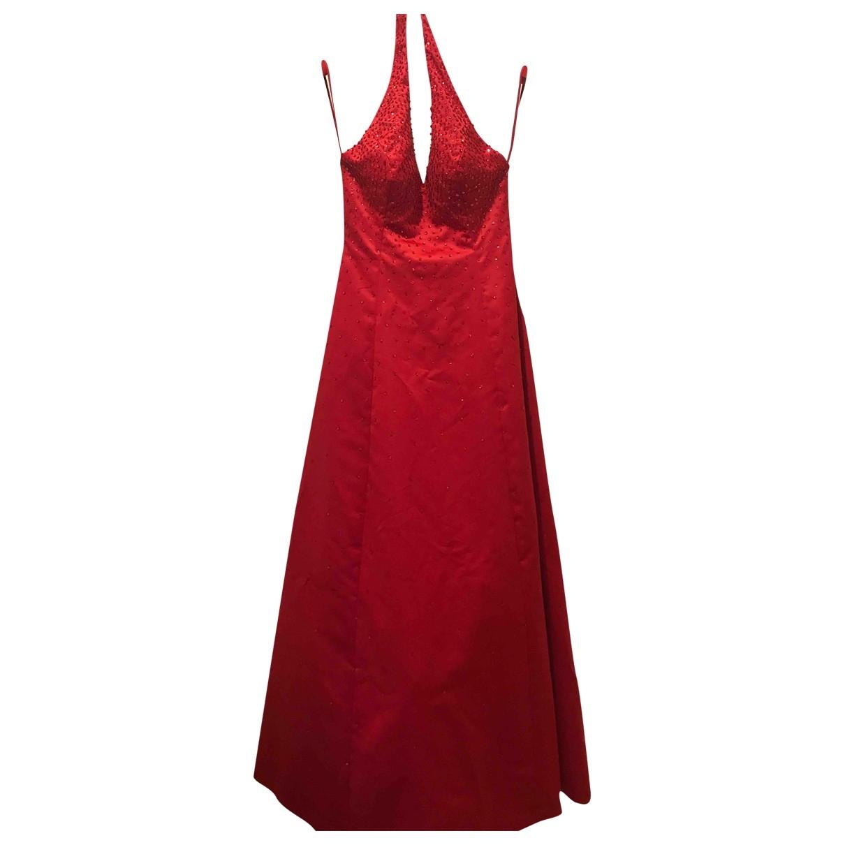 Basix \N Kleid in  Rot Mit Pailletten