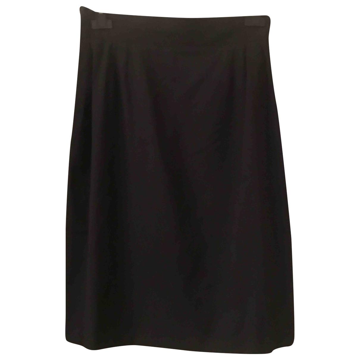 Brioni - Jupe   pour femme en soie - anthracite