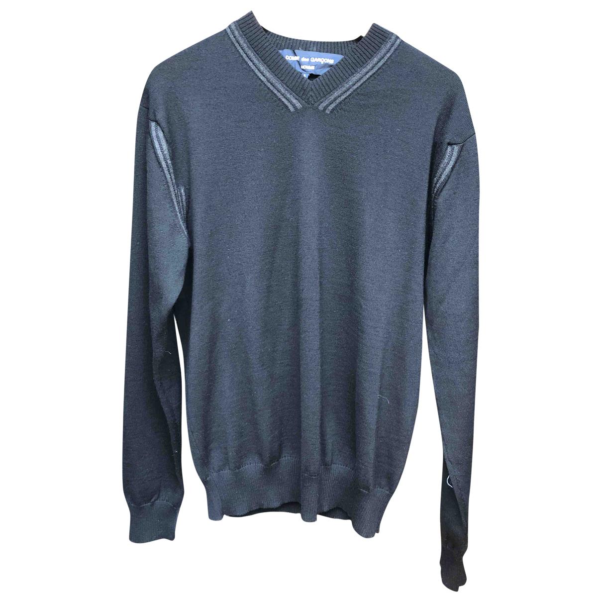 Comme Des Garcons \N Pullover.Westen.Sweatshirts  in  Schwarz Wolle