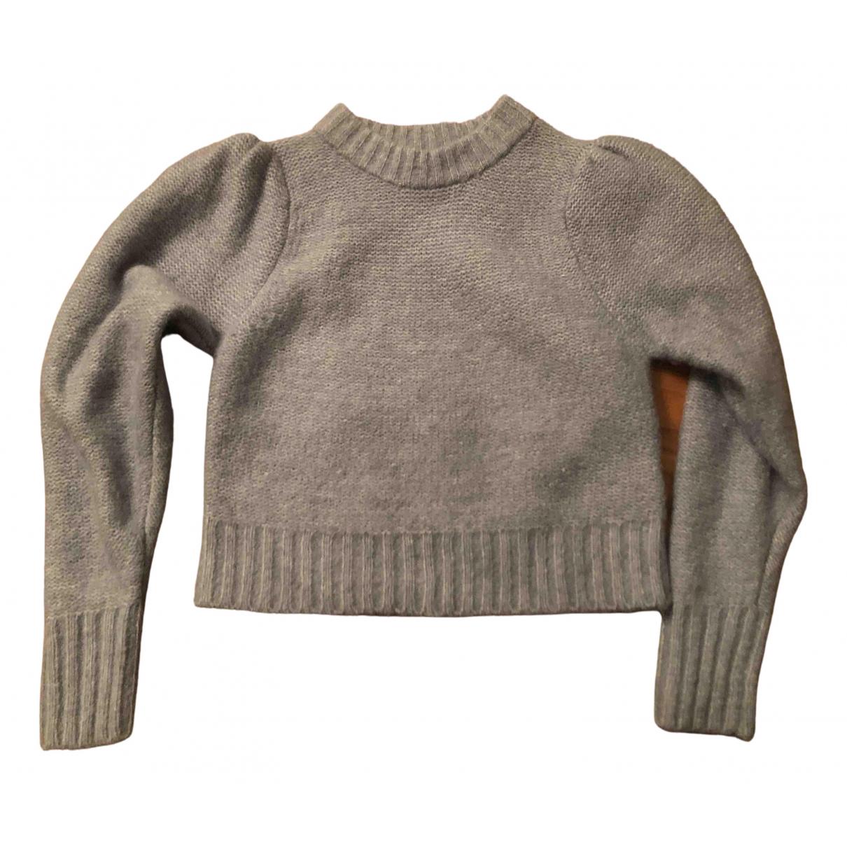 - Top   pour femme en laine - bleu