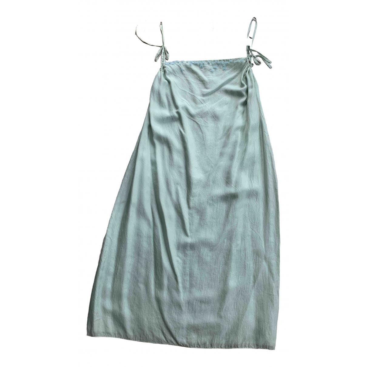 Donna Karan - Robe   pour femme en soie - vert