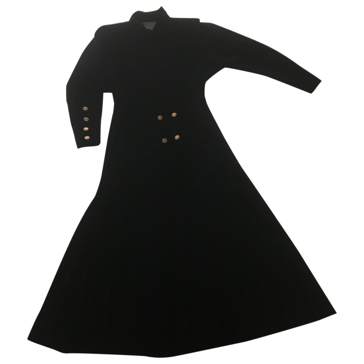 Chanel \N Kleid in  Schwarz Samt
