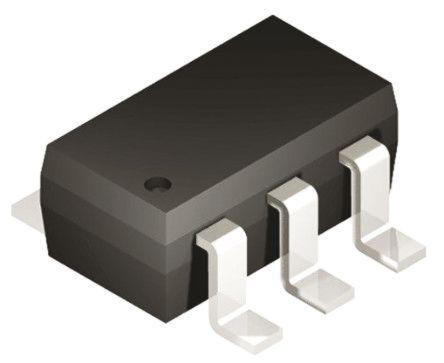 Texas Instruments TMP123AIDBVT, Temperature Sensor -55 → +150 °C ±1.5°C Serial-Microwire, Serial-SPI, 6-Pin (5)
