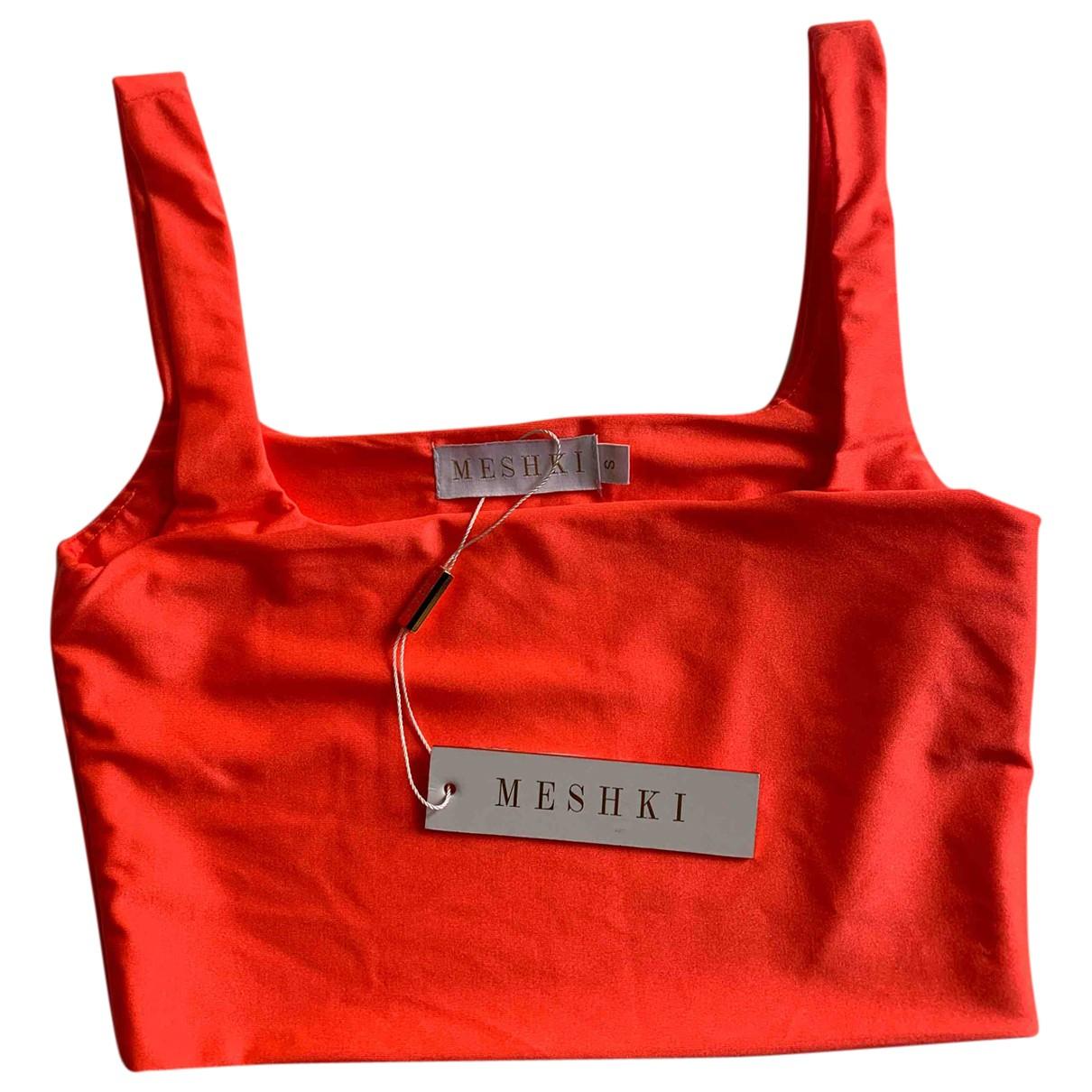 Meshki \N Orange  top for Women S International