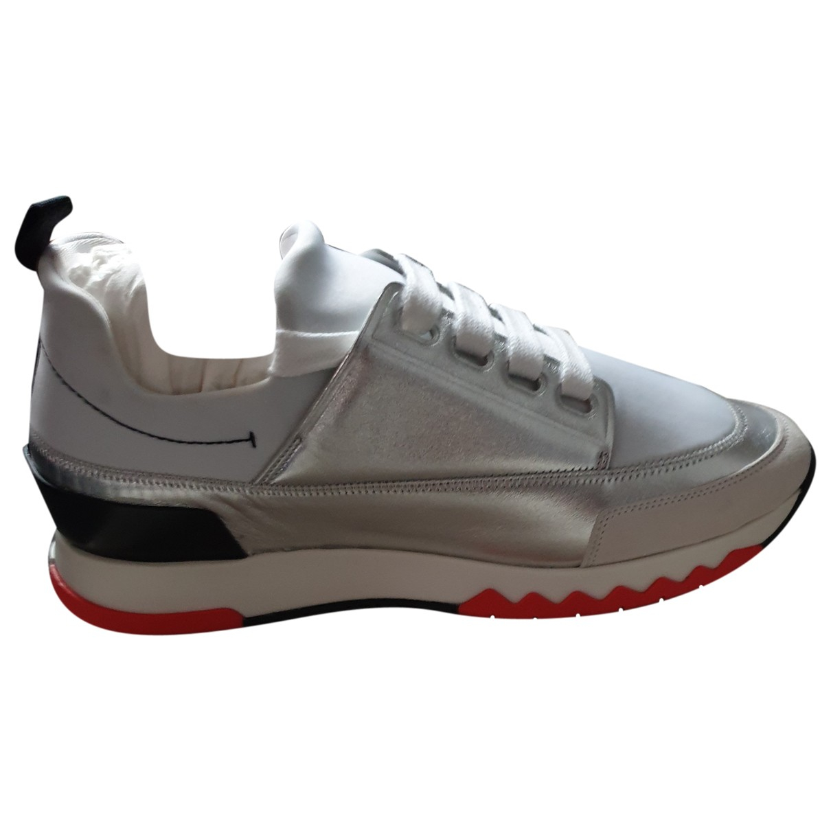 Hermes Stadium Sneakers in  Bunt Leder