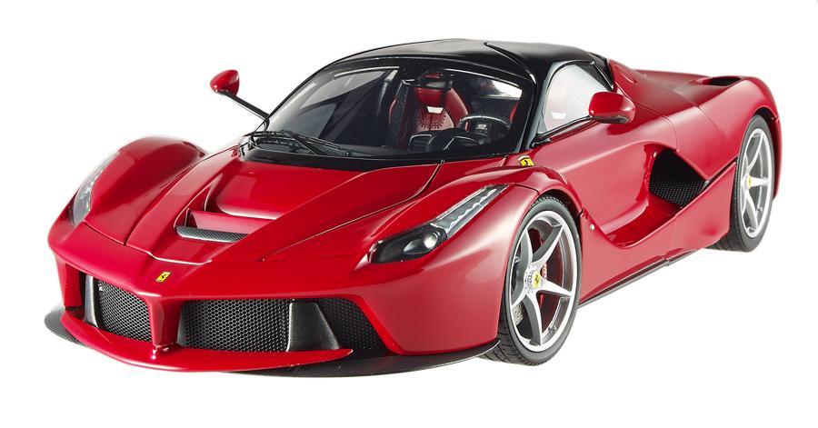 Ferrari Laferrari F70 Hybrid Elite Red 1/18 Diecast Car Model by Hotwheels